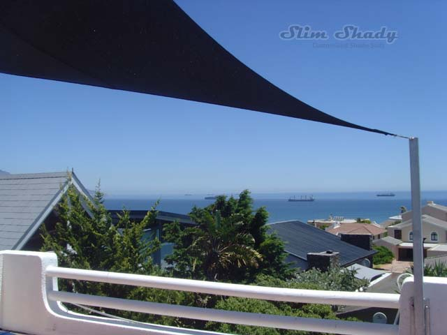 Rooftop shade sail