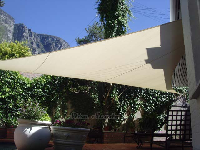 Newlands cream shade sail
