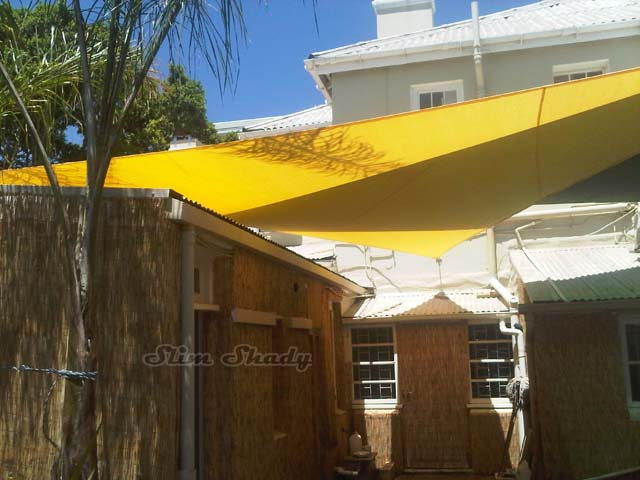 Nabua restaurant shade sails - V&A Waterfront